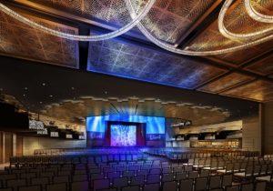 Live Casino event center