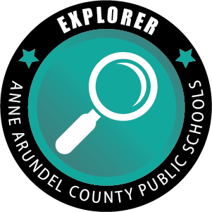 Explorer Badge, Anne Arundel County Public Schools