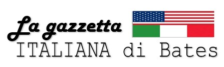 La Gazetta and Italian and American flags