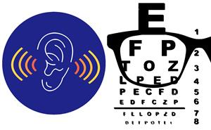 Hearing and Vision Testing icons