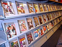 Magazines in the media center