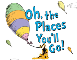 Oh, the Places You'll Go! Tiger