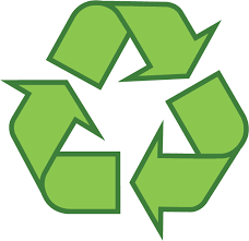 green recycle arrows creating a triangle