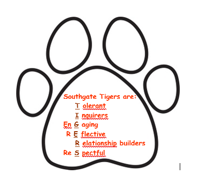 Southgate Tigers are: