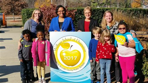 Arnold ES - 2017 Wellness School of Distinction