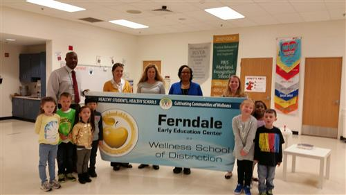 Ferndale ECC - 2017 Wellness School of Distinction