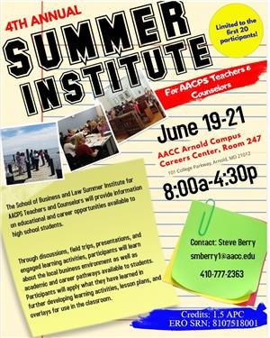 4th Annual Summer Institute
