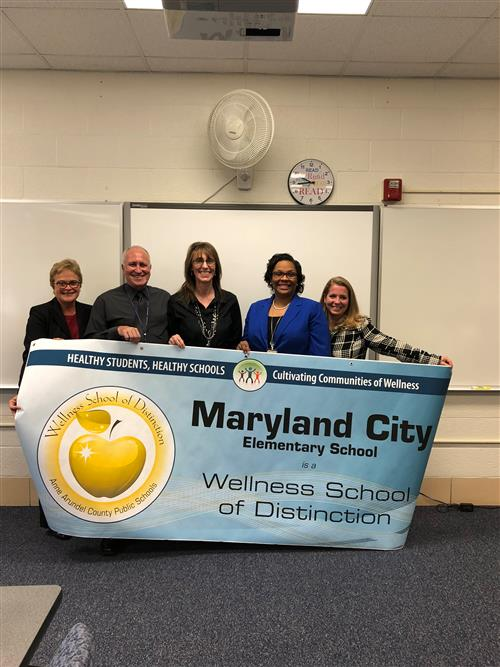 Maryland City ES - 2017 Wellness School of Distinction