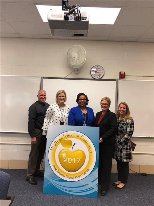 Southern HS - 2017 Wellness School of Distinction