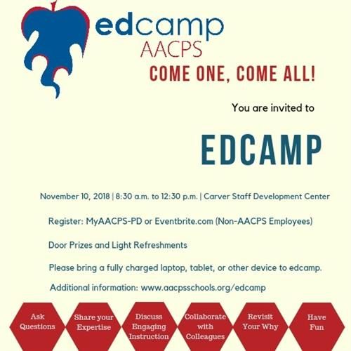 You are invited to EdCamp