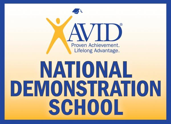 AVID Proven Achievement Lifelong Advantage. National Demonstration School