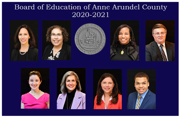 Board of Education of Anne Arundel County 2020-2021