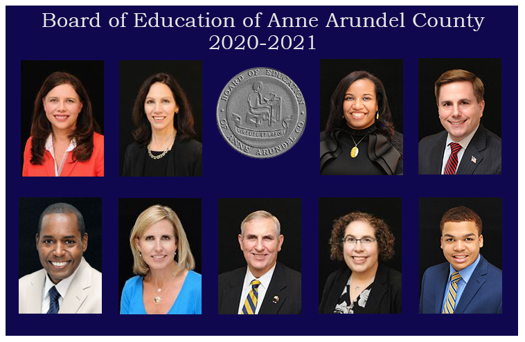 Board of Education of Anne Arundel County 2019-2020