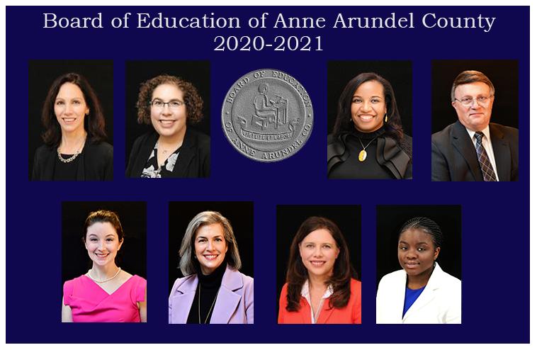 Board of Education of Anne Arundel County 2020-2021
