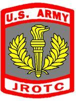US Army JROTC - Logo with torch