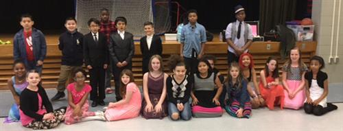 Woodside Elementary School Ballroom Dance Students