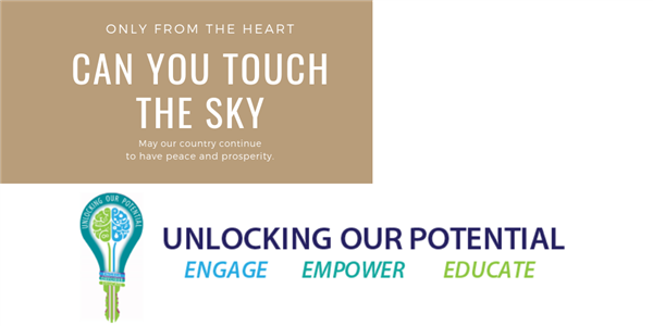 Only From the Heart Can You Touch the Sky Unlocking Our Potential Engage Empower Educate