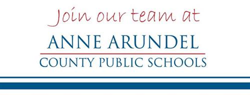 Join our team at Anne Arundel County Public Schools
