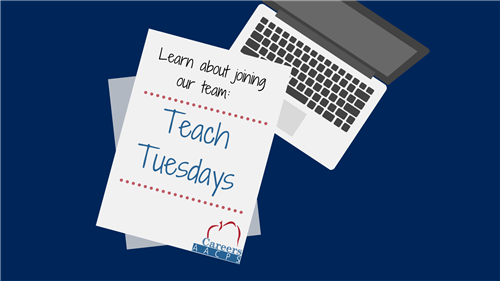 Learn about joining our Team Teach Tuesdays