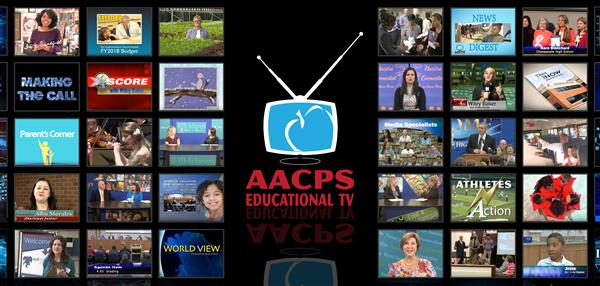 AACPS Educational TV various screen shots