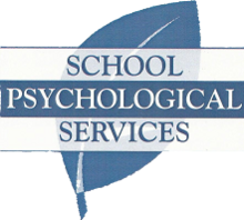 School Psychological Services - blue leaf