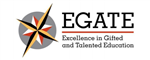 Excellence in Gifted and Talented Education (EGATE) Logo