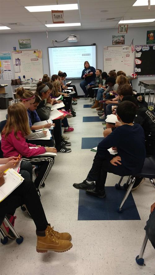 Philosophical Chairs in Science Class