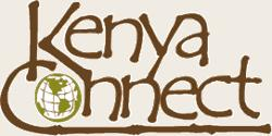 Kenya Connect with an image of the world