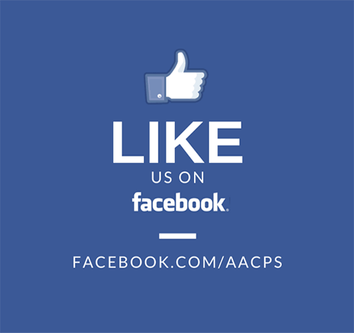 Like Us on Facebook (facebook.com/aacps