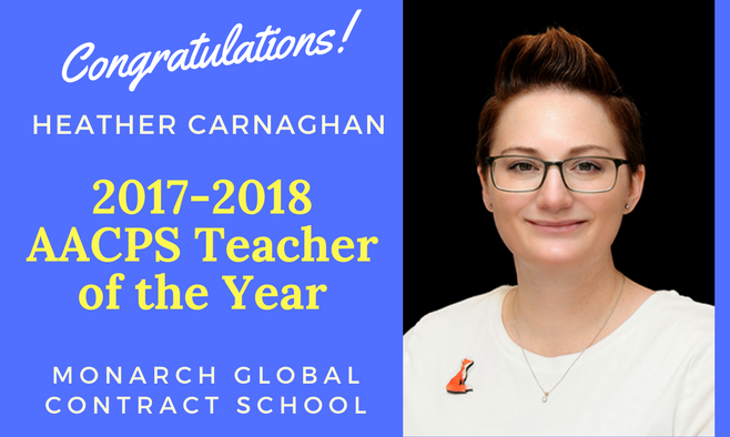 2017-2018 Teacher of the Year